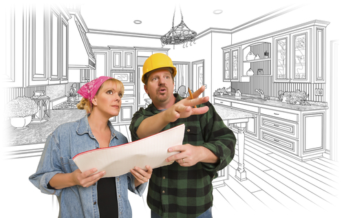 A home contractor will keep your kitchen on budget.