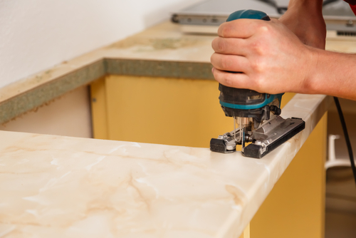 Countertops, task lighting & backsplash are things every project needs.