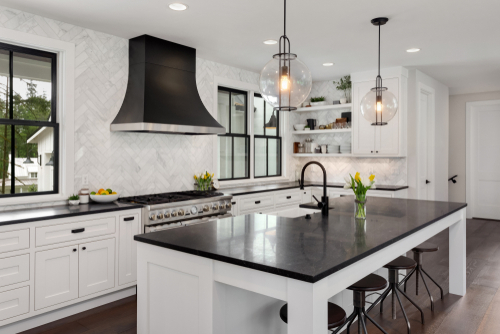 Some people like a large work area in the kitchen. Our dream design team can help